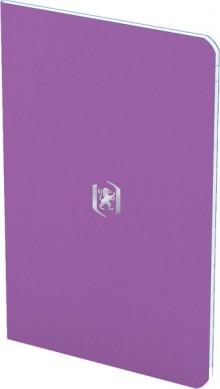 Oxford Pocket Notes Notizhefte 24 Blatt, 90 g/qm, Himbeere+Violett