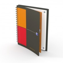 Meetingbook Tablet-Format, B5, kariert 5 mm, 80 Blatt, 90g/qm,