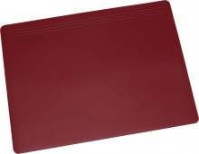 Schreibunterlage Matton, 49x70cm, rot, ohne Abdeckung