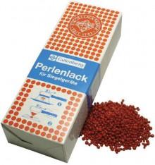 Siegellack-Perlen, zinnoberrot, für Elektro-Schnellsiegler.
