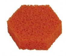 Ersatzschwamm für Markenanfeuchter, Naturkautschuk, 85 mm, orange