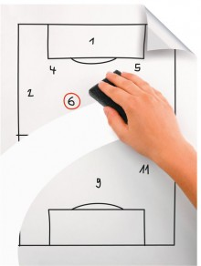Legamaster Magic Chart Whiteboard, Glänzende Oberfläche