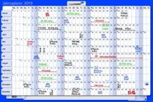 Kartonjahresplaner 60x90cm # 7-420221-20
