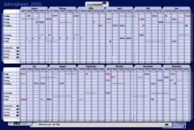 Kartonjahresplaner 60x90cm # 7-423221-20