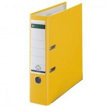 Ordner 101050, PP A4 RB 80mm gelb 180° Ordner Präzisionsmechanik