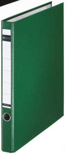 Ringordner ohne Schlitze A4 2-Ring, 35mm, grün