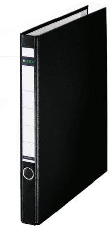 Ringordner ohne Schlitze A4 2-Ring, 35mm, schwarz