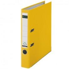 Ordner 101550, PP A4 RB 52mm gelb 180° Ordner Präzisionsmechanik