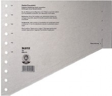 Staffel-Trennblätter Karton A4 grau