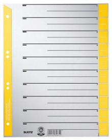 Trennblätter farbig bedruckt gelb