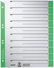 Trennblätter farbig bedruckt grün