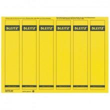 Rückenschilder I/K/L kurz/schmal gelb 150 Stück