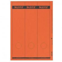 Papierrückenschild lang/breit rot A4 25 Blatt = 75 Stück