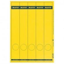 Rückenschild I+L+K lang/sm gelb 125St 25 Blatt A4