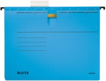 Hängehefter Alpha farbig A4 blau 250g/qm Colorspankarton