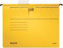 Hängehefter Alpha farbig A4 gelb 250g/qm Colorspankarton
