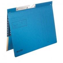 Combi Pendelhefter, kaufmännische Heftung, mit Tasche, blau
