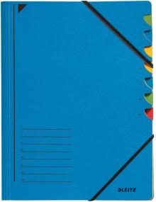 Leitz Ordnungsmappe in blau