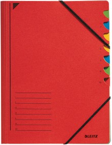 Leitz Ordnungsmappe in rot