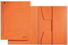 Leitz Jurismappe/Dreiklappenmappe A4 320 g/m2 orange
