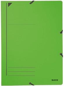 Eckspanner A4 450 g/m2 grün