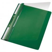 Universal Plastic-Einhängehefter A4, auch imOrdner Abheftbar grün