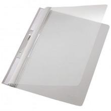 Universal Plastic-Einhängehefter A4, auch imOrdner Abheftbar grau