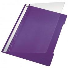 Schnellhefter PVC A4 transparent/violett
