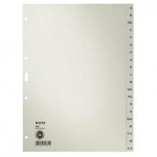Register A-Z Pap. f.RingbA4 20Bl gr 100g/qm Tauenpapier RC