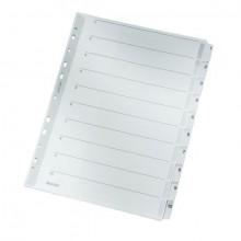 Register 1-10 A4 10Bl gr 160 g/qm Karton