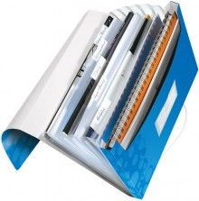 Leitz WOW Projektmappe in blau metallic
