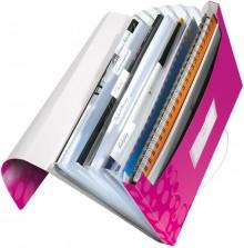 Leitz WOW Projektmappe in pink metallic