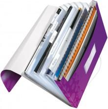 Leitz WOW Projektmappe in violett metallic