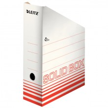 Archivstehsammler A4 Solid 320x80x260mm, hellrot, bis zu 900 Bl.
