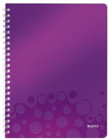 Collegeblock WOW A4 PP-Einband liniert, violett