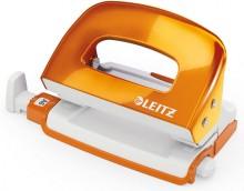 Leitz WOW Locher Mini, 10 Blatt orangemetallic # 50601044