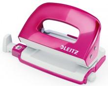 Leitz WOW Locher Mini, 10 Blatt pinkmetallic # 50601023