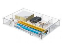 Schubladeneinsatz Cube/Plus, glasklar
