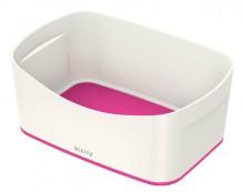 MyBox Aufbewahrungsschale weiß/pink, 246x98x160mm, ABS Kunststoff