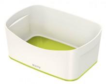 MyBox Aufbewahrungsschale weiß/grün, 246x98x160mm, ABS Kunststoff