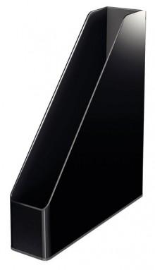 Stehsammler Duo Colour, schwarz Rückenbreite 73 mm