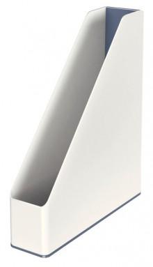 Stehsammler WOW Duo Colour, weiß Rückenbreite 73 mm