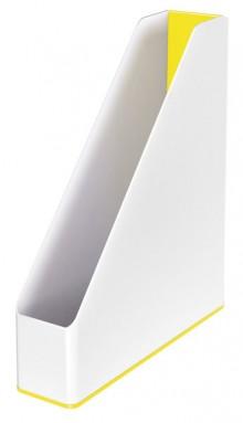 Stehsammler WOW Duo Colour, gelb Rückenbreite 73 mm