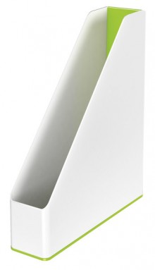 Stehsammler WOW Duo Colour, grün Rückenbreite 73 mm