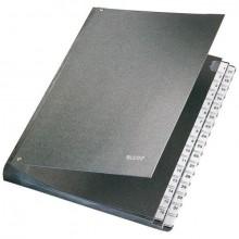 Leitz Pultordner in schwarz mit 31 Fächern