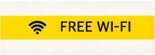 Endlosetikett 12mm x 10m, gelb, permanent haftend. Wasserfest und