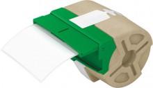 Gestanzte Versand-Etiketten für Icon 50 x 88 mm, weiß, permanent haftend.