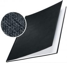 Buchbindemappe Hardcover A4 7mm Leinenüberzug matt schwarz