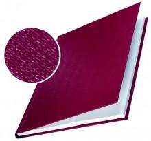 Buchbindemappe Hardcover A4 10,5mm Leinenüberzug matt bordeaux