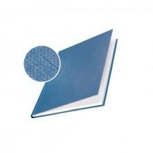 Buchbindemappe Hardcover A4 14mm Leinenüberzug matt blau